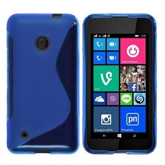 Telone Back Case S-Case силиконовый чехол Nokia 530 Lumia Синий