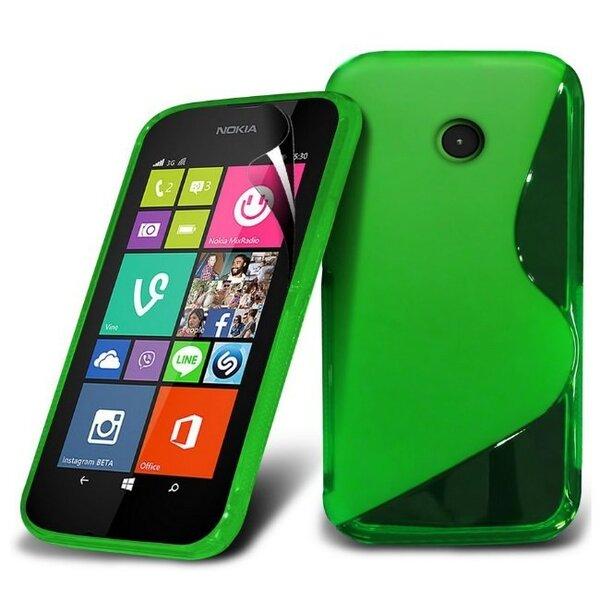 Telone Back Case S-Case силиконовый чехол Nokia 530 Lumia Зеленый цена и информация | Mobiili ümbrised, kaaned | kaup24.ee