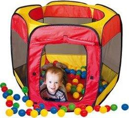 Laste telk Paradiso Toys + 100 palli hind ja info | Mänguasjad (vesi, rand ja liiv) | kaup24.ee