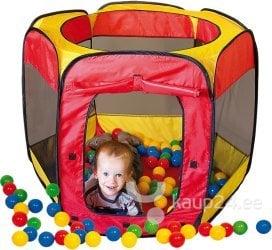 Laste telk Paradiso Toys + 100 palli