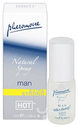 Feromoonidega parfüüm meestele HOT Natural Spray 10 ml
