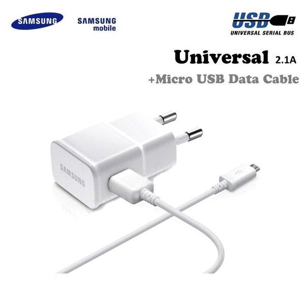 Laadija Samsung ETA-U90EW 2A + ECB-DU4EWE Micro USB hind ja info | Laadijad | kaup24.ee