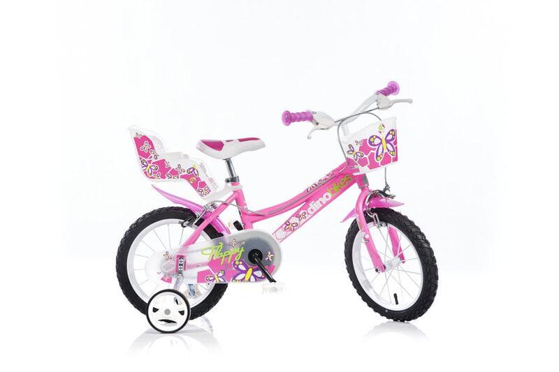 "Tüdrukute jalgratas Dino Bikes 14"" (146R)"