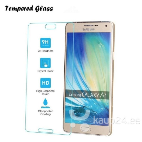 Kaitsekile Tempered Glass Samsung Galaxy A7 (A700) hind ja info | Ekraani kaitsekiled | kaup24.ee