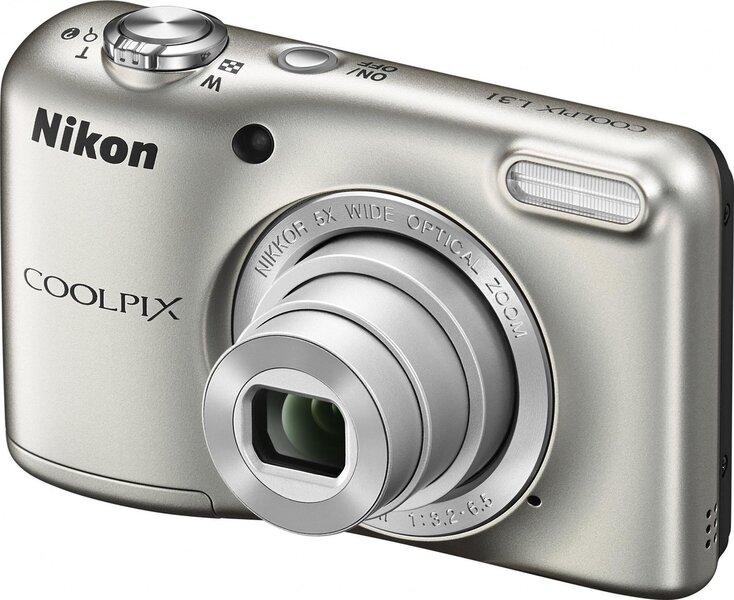 Nikon Coolpix L31 Hõbedane