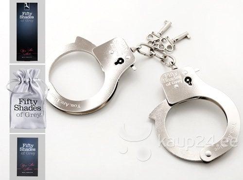 "Наручники \You are mine\"" Fifty Shades of Grey"" цена и информация | BDSM ja fetish | kaup24.ee"