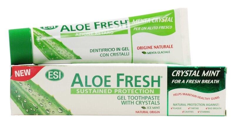 Hambapasta Crystal ESI Aloe Fresh Mint 100ml hind ja info | Suuhügieen | kaup24.ee