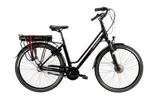 Электрический велосипед Devron 28122, 28'', черный