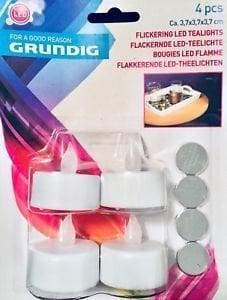 LED küünlad Grundig, 4 tk hind