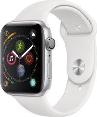 Apple Watch S4, 44 mm, Hõbedane/Valge