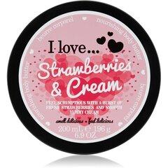 Toitev kehavõi I Love... Strawberries & Cream 200 ml