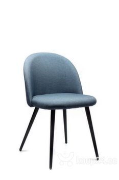 4 tooli komplekt VK-09, sinine/must