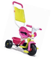 Толкаемый трехколесный велосипед Smoby Be Fun Pink Comfort