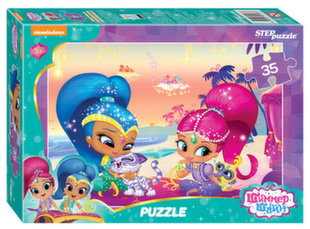 "Pusle Step Puzzle 35 ""Shimmer and Shine"""