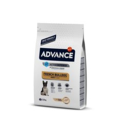 Kuivtoit Prantsuse buldogidele ADVANCE pardiliha ja riisiga, 2,5 kg hind ja info | Kuivtoit koertele | kaup24.ee