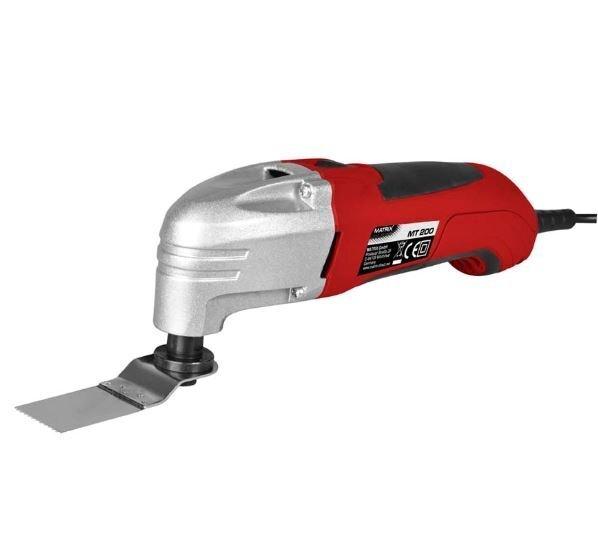 Multifunktsionaalne tööriist MATRIX MT 200 цена и информация | Lihvmasinad ja ketaslõikurid | kaup24.ee
