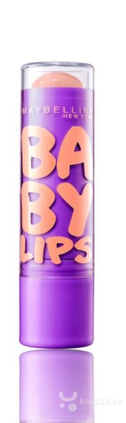 Huulepalsam Baby lips Maybelline, Peach Kiss