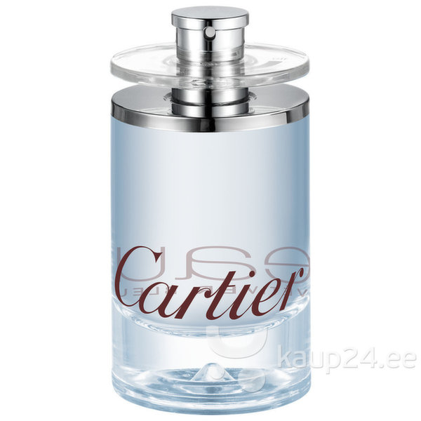 Tualettvesi Cartier Eau de Cartier Vetiver Bleu EDT naistele/meestele 100 ml