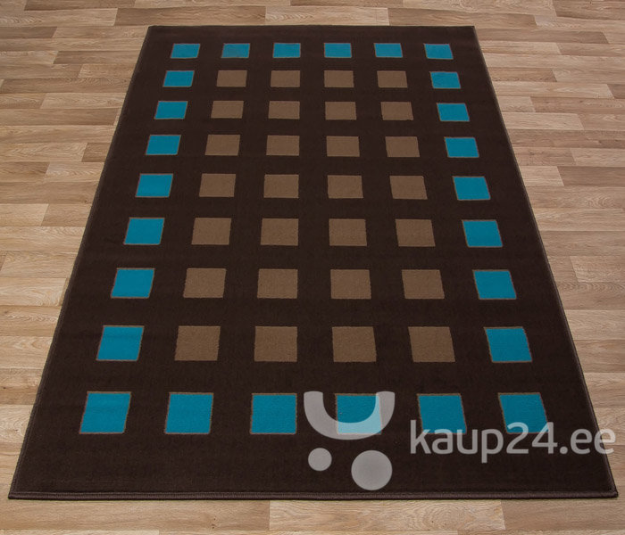 Vaip Luna Blocks Brown&Blue
