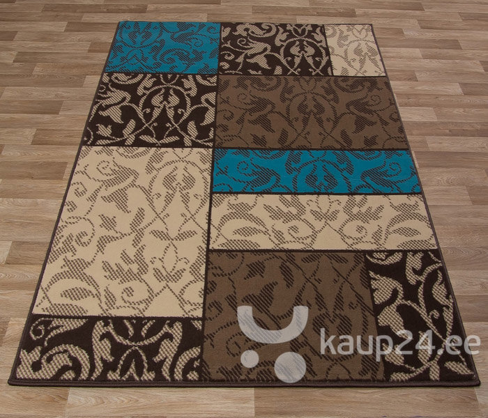 Vaip Luna Elements Choco Blue цена и информация | Vaibad | kaup24.ee