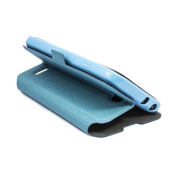 Kaitseümbris Telone Super Slim Shine Book LG F70 (D315), Sinine hind ja info | Mobiili ümbrised, kaaned | kaup24.ee