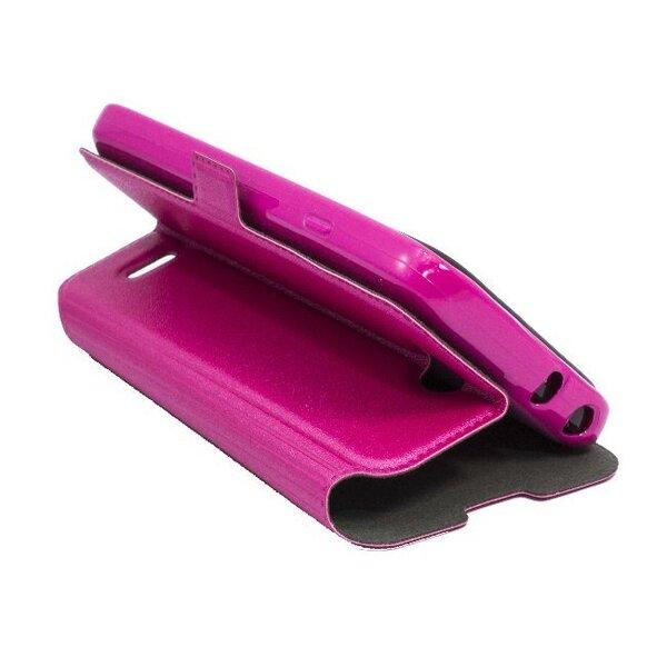 Telone Супер тонкий Чехол-книжка со стендом LG D315 Optimus F70 Розовый цена и информация | Mobiili ümbrised, kaaned | kaup24.ee