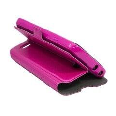 Kaitseümbris Telone Super Slim Shine Book LG G2 mini D620, Roosa