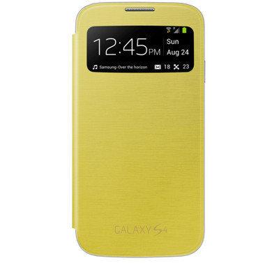 Kaitseümbris Clamshell Case S - View / Samsung Galaxy S4 (i9500), kollane hind ja info | Mobiili ümbrised, kaaned | kaup24.ee
