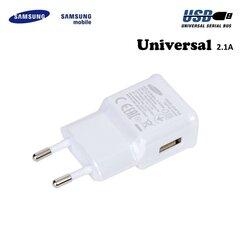 Laadija Samsung EP-TA10EWE USB 2A hind ja info | Mobiiltelefonide laadijad | kaup24.ee