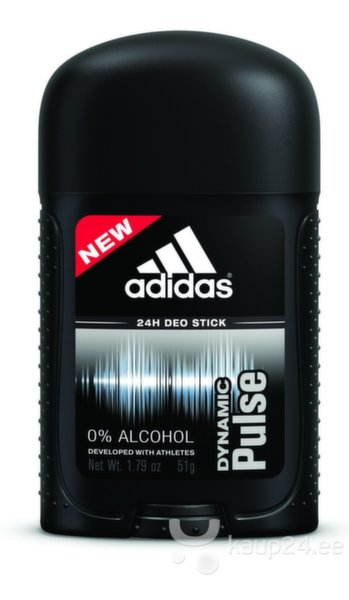 Pulkdeodorant Adidas Dynamic Pulse meestele 53 ml цена и информация | Lõhnastatud kosmeetika meestele | kaup24.ee