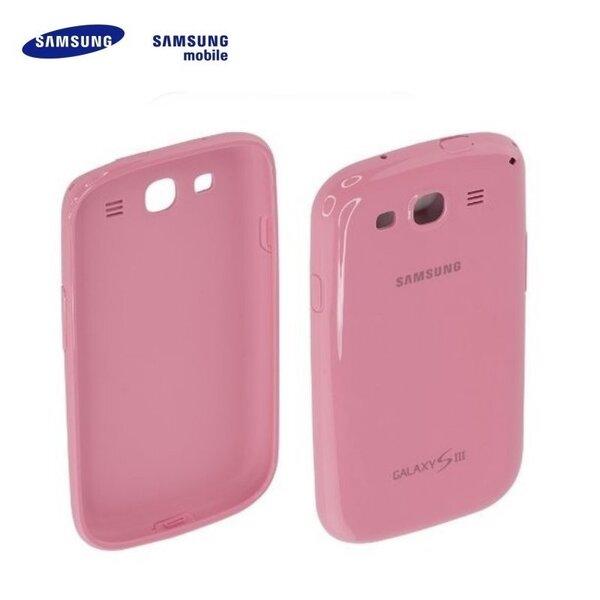 Samsung EFC-1G6PPE Супер Тонкий Чехол-крыжка i9300 i9301 Galaxy S3 S3 Neo Розовый (EU Blister) цена и информация | Mobiili ümbrised, kaaned | kaup24.ee