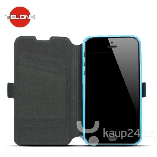 Telone Супер тонкий Чехол-книжка со стендом HTC One M9 Синий цена и информация | Mobiili ümbrised, kaaned | kaup24.ee