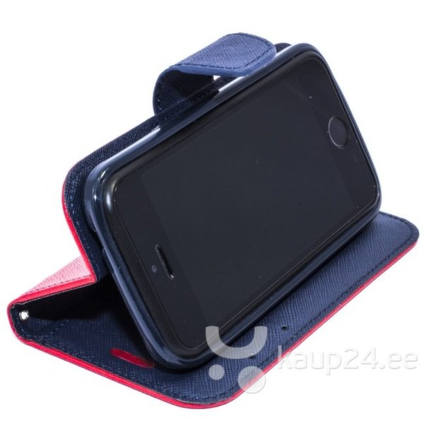Telone Fancy Diary Book Case Sony Xperia Z4 Чехол-книжка со стендом Красный/Синий