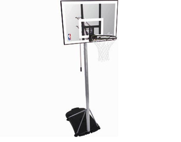 Korvpallilaud alusega Spalding, NBA Silver (mobiil) цена и информация   Korvpall   kaup24.ee