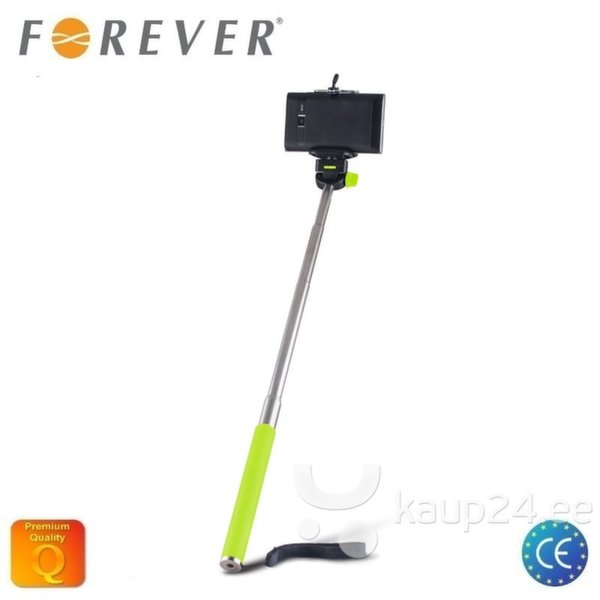 Selfie Stick Forever MP-300 95cm, roheline