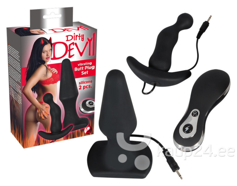 "Anaaltapp ""Dirty Devil Vibro Plug"" You2Toys цена и информация 