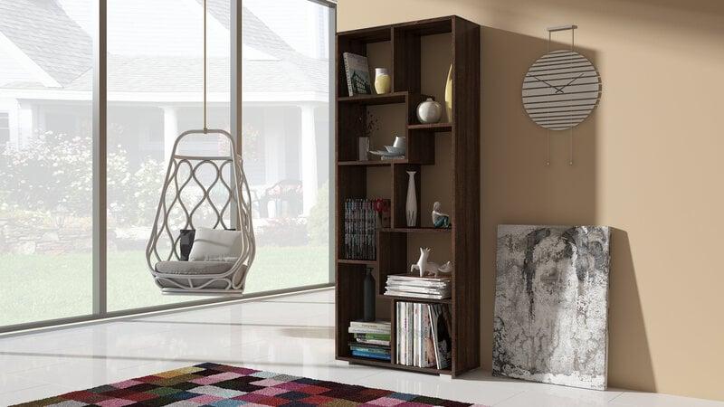 Riiul Domino, tume цена и информация | Riiulid | kaup24.ee