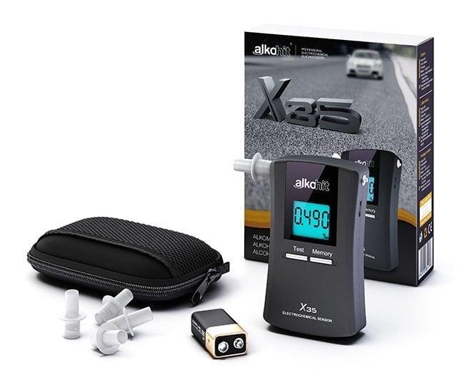 "Elektrokeemiline alkotester ""ALKOHIT X35"" цена и информация | Alkomeetrid | kaup24.ee"
