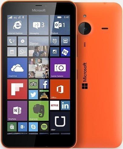 Mobiiltelefon Microsoft Lumia 640 XL Dual SIM Oranž