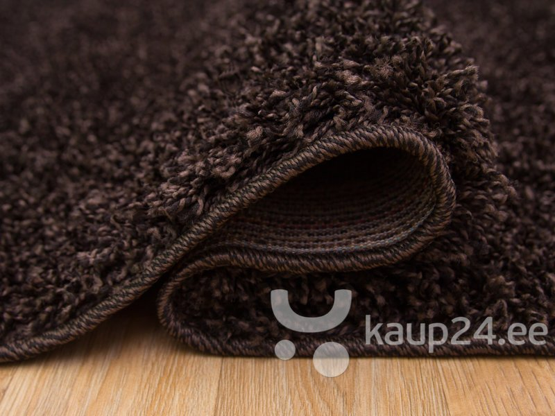 Vaip Shaggy Dark Brown Mix цена и информация | Vaibad | kaup24.ee