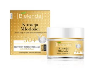Kortsudevastane näokreem Bielenda Youth Therapy 50+ Lifting 50 ml hind ja info | Kortsudevastane näokreem Bielenda Youth Therapy 50+ Lifting 50 ml | kaup24.ee