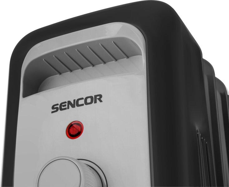Õliradiaator SENCOR SOH 3307BK, 1500W, 7 sektsiooni tagasiside