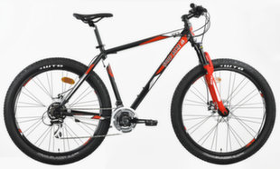 "Mägijalgratas Good Bike MTB Front, 27.5"", punane/must"