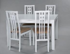 Столовый комплект Trento/Monza, белый