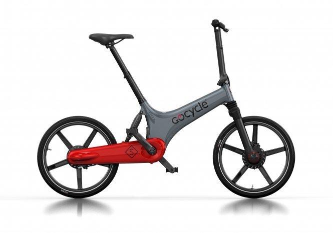 Kokkupandav elektriline jalgratas GoCycle GS, hall-punane hind