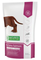 Natures Protection Mini Extra Salmon для взрослых собак, 500 г.