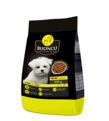 Kuivtoit väikestest tõugudest noortele kutsikatele BUONCU Mini junior Lamb & rice, 0,5 kg