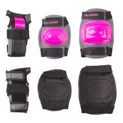 Набор защитной амуниции Worker Rozy, черный / розовый