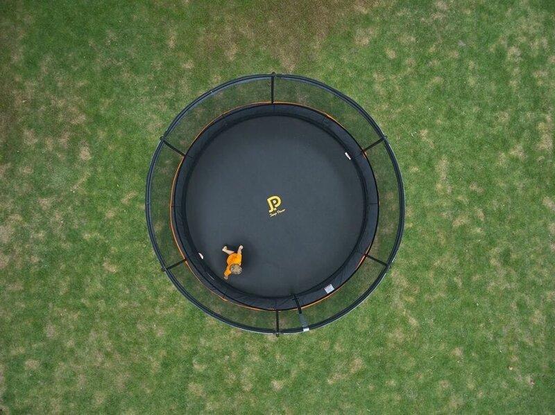 Batuut Jump Power Ufo, 396 cm, hall