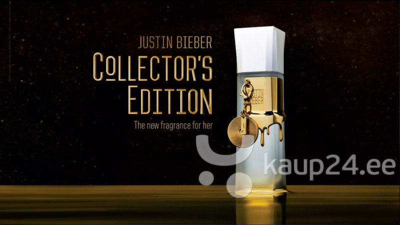 Parfüümvesi Justin Bieber Collector's Edition EDP naistele 50 ml